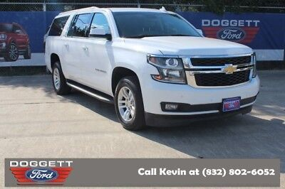 2016 Suburban LT 2016 Chevrolet Suburban, Summit White with 53,525 Miles available now!