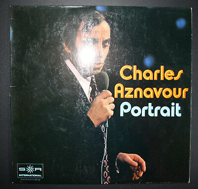 Vinyl - LP: Charles Aznavour - Portrait / SR International / Originalaufnahmen