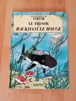 Le Tresor De Rackman Le Rouge ( Adventures of Tintin) Book by Herge