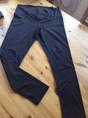Ladies Maternity Leggings Size 16/18 Large Esmara Black