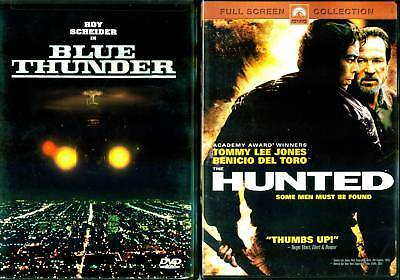Blue Thunder (1998) & Hunted (2002) - 2 Action & Adventure DVDs