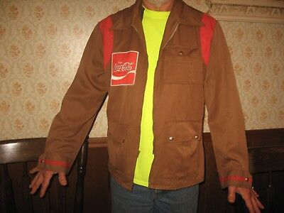 Vintage Coca Cola Coke Employee Driver Uniform Jacket Coat Old Early Patches Nr