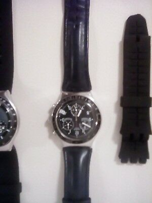 job lot of two Swatch watches, both working