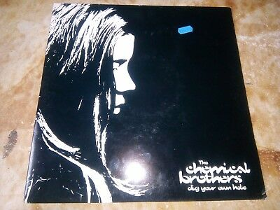 The chemical brothers- Vinyl - dig your own hole- Made in U K.- 7243 8 42950 1 -