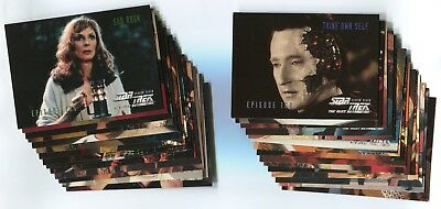 STAR TREK: THE NEXT GENERATION 1999 Season 7 Card LOT!!! NM/M 123 Cards