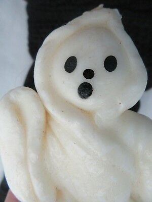 """Vintage Gurley 4"""" Ghost Halloween Figural Candle"""