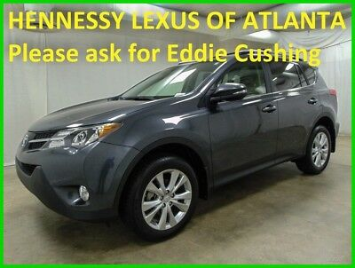 2015 Toyota RAV4 Limited 2015 Limited Used 2.5L I4 16V Automatic FWD SUV