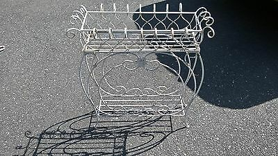 Vintage Wrought Iron Plant Stand Pickup Only.