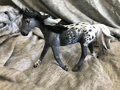 SM Breyer CM Grey Leopard Appy Custom Horse Stablemate