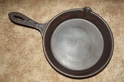 Vintage, Rare, #8 GateMarked, Ornate, Fancy Handle Cast Iron Fry Pan