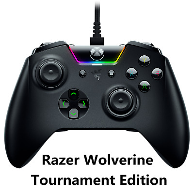 Razer Wolverine Tournament Edition Gaming Controller for Xbox One & Windows 10