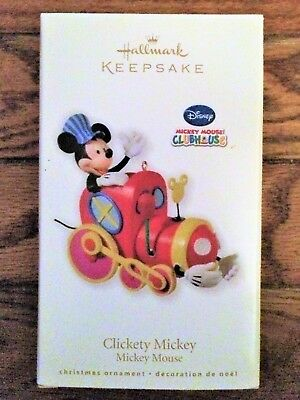 Hallmark Ornament Disney Mickey Mouse Clubhouse Clickety Mickey 2010~NEW in box