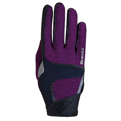 Roeckl Mendon Womens Gloves Everyday Riding Glove - Berry All Sizes