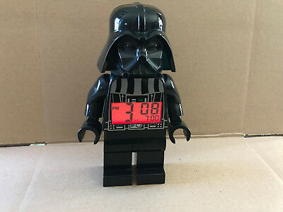 2010 LEGO Star Wars Darth Vader Digital Alarm Clock