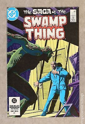 Swamp Thing (2nd Series) #21 1984 VF- 7.5