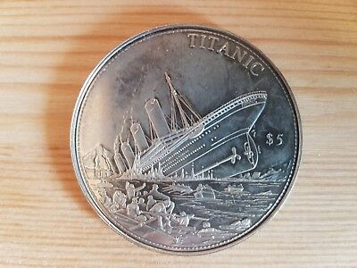 5 Dollars Republic of Liberia 2006 - Titanic