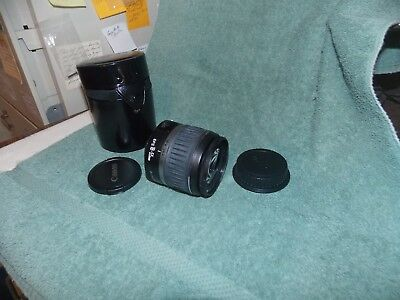 Canon  Zoom   18-55mm     Lens   ONLY  W/Covers & Case