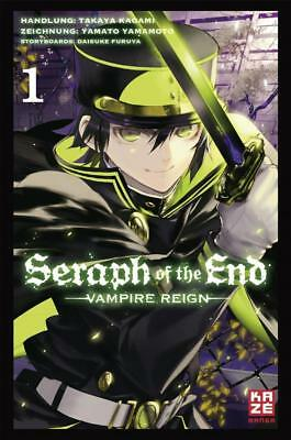 Kagami, Takaya: Seraph of the End 01, Taschenbuch
