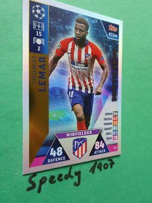 Topps Champions League 18 2019 Mega Signing Lemar Atletico Match Attax #419