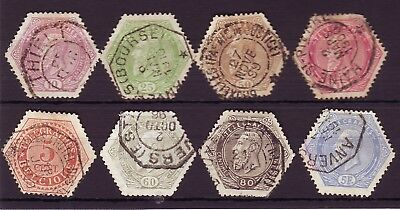 Old Europe * Local Benelux    Postal  Telegraphs  == 8 ==   Used