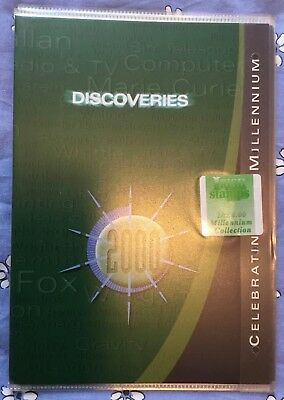 Ireland 2000 Celebrating The Millennium Discoveries FDC Sheet pack unopened