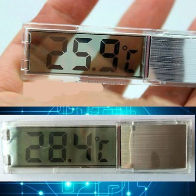 Aquarium LCD Digital Fish Thermometer Water Terrarium Tank Temperature Reptile