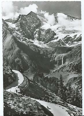 Black & White Postcard of Grosslockner, Austria