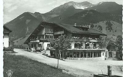 Black & White Postcard of Hotel Pension, Lermoos, Tirol