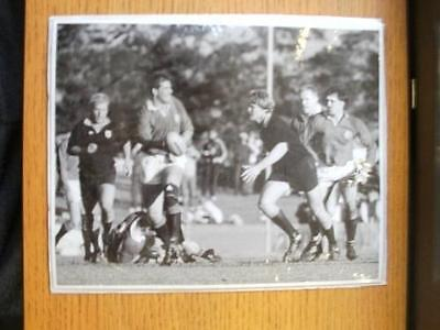 18/08/1989 British Lions Press Photo: N.S.W Country (In Newcastle) - Lions Lock