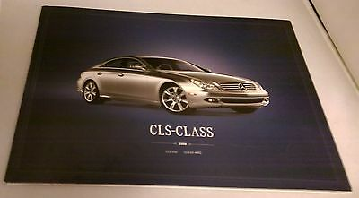 Mercedes Benz Official CLS Class Prestige Sales Brochure 2008 USA Edition Used