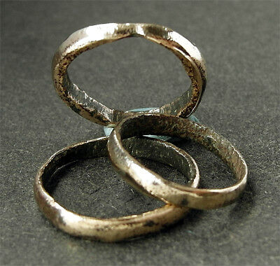 Genuine Viking Bronze Hair Rings