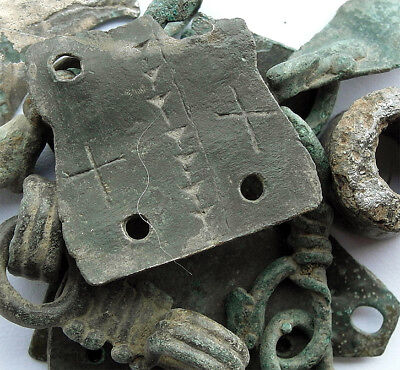 GENUINE VIKING BRONZE ARTEFACTS circa 8th/10th cent AD