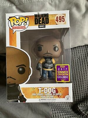 Funko Pop The Walking Dead T-Dog 2017 Summer Convention Exclusive