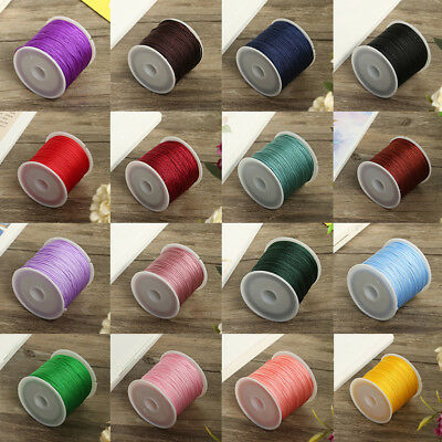 0.8mm Nylon Cord Thread String for Beading Trimming Sewing Jewellery Shamballa Z