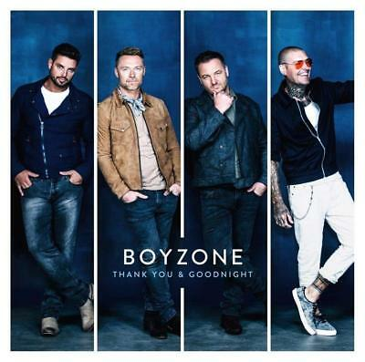Boyzone - Thank You & Goodnight (NEW CD ALBUM)