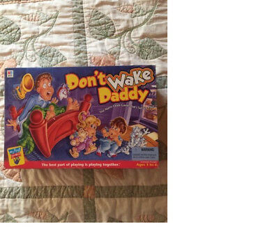 Don't Wake Daddy Board Game clean dont milton bradley hasbro
