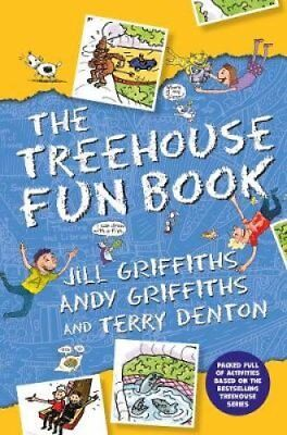 The Treehouse Fun Book by Andy Griffiths 9781509860449 (Paperback, 2018)