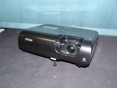 Epson PowerLite 77c LCD Projector Multimedia Home Theater 1616 Lamp Hours EMP-X5