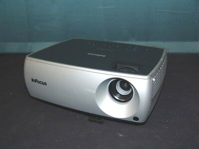 InFocus IN2102EP DLP Home Theater Projector 101 Lamp Hours TESTED!