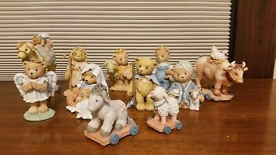 Cherished Teddies Lot of 11 from the 90's