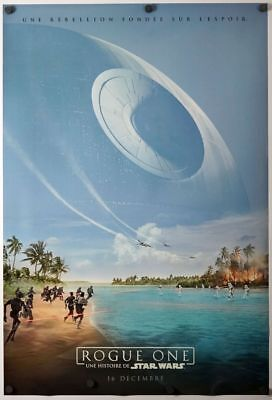 Rogue One a Star Wars Store - original DS movie poster D/S 27x40 - FRENCH Adv