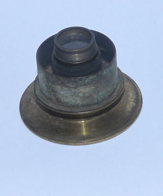 Eyepiece prism for brass microscope.