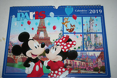 Disneyland Paris Disneyland Resort Paris Kalender 2019 DLRP Euro Disney