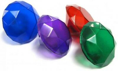 Sonic The Hedgehog Set of 4 Light-Up Chaos Emeralds 1.5-Inch Accessory [Loose]