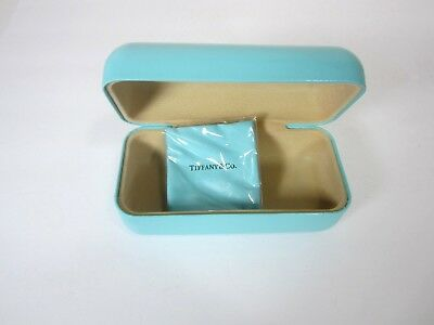 Tiffany & Co. Iconic Eye, Sunglass Case with Cleaning Cloth New