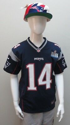 Nfl Nike On Field New England Patriots Brandin Cooks Jersey Youth Size Nwt