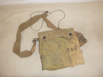 Nice Ww 1 Us Army Gas Mask With Booklet And Complete, Great Condition