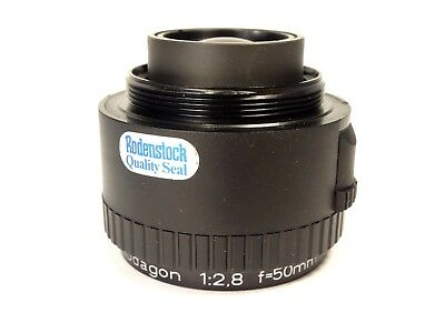 Rodenstock Rodagon 50mm f2.8  Enlarging Lens with Case - Very Nice!