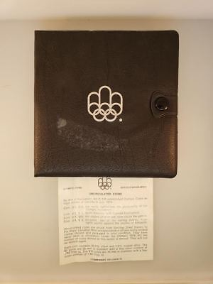 1976 Montreal Olympic Coin Set