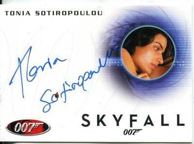 James Bond Autographs & Relics Autograph Card A240 Tonia Sotiropoulou